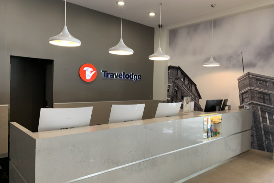 Travelodge Sydney Lobby Refurbishment